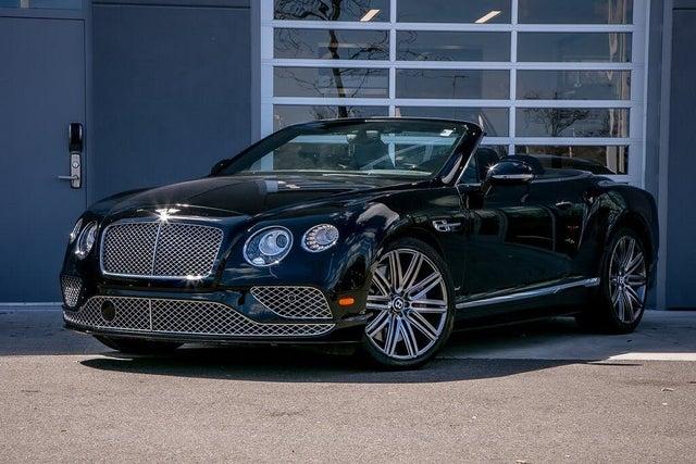 2016 Bentley Continental GTC Speed AWD