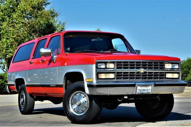 1990 Chevrolet Suburban V2500 4WD