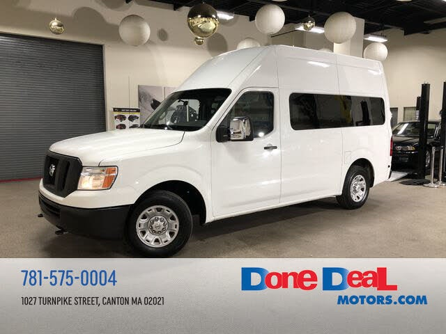 2014 Nissan NV Cargo 3500 HD SV with High Roof