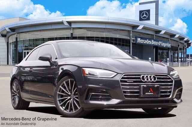 2018 Audi A5 2.0T quattro Prestige Coupe AWD