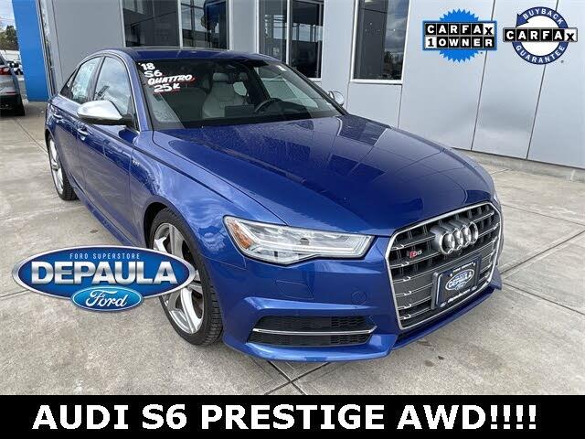 2018 Audi S6 4.0T quattro Prestige Sedan AWD