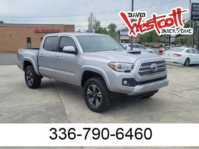 2017 Toyota Tacoma TRD Sport V6 Double Cab 4WD