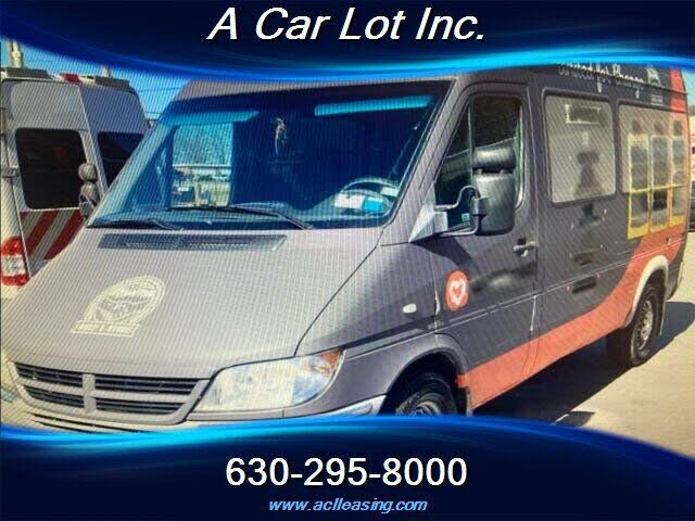 2004 Dodge Sprinter Passenger 2500 High Roof 140 WB RWD