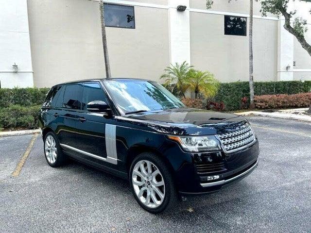 2013 Land Rover Range Rover HSE 4WD