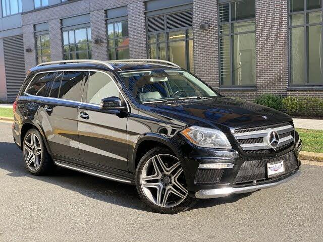 2014 Mercedes-Benz GL-Class GL 550
