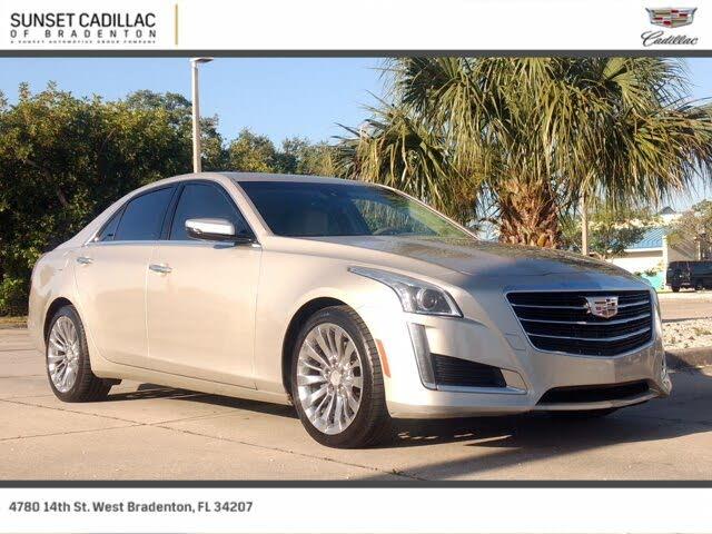 2016 Cadillac CTS 2.0T Luxury RWD
