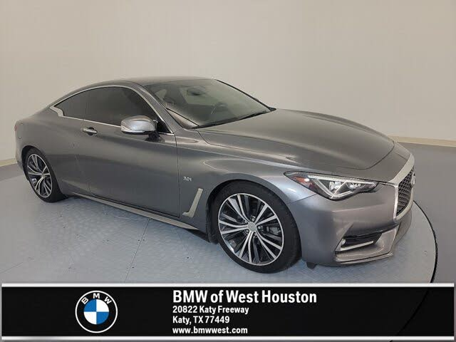 2018 INFINITI Q60 3.0t Luxe Coupe RWD