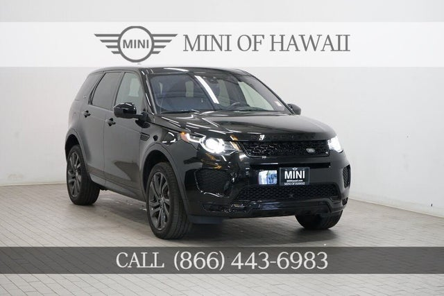 2018 Land Rover Discovery Sport 286hp HSE AWD