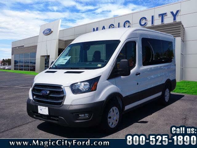 2020 Ford Transit Passenger 150 XL RWD with Sliding Passenger-Side Door