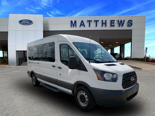 2015 Ford Transit Passenger 350 XL Medium Roof LWB RWD with Sliding Passenger-Side Door