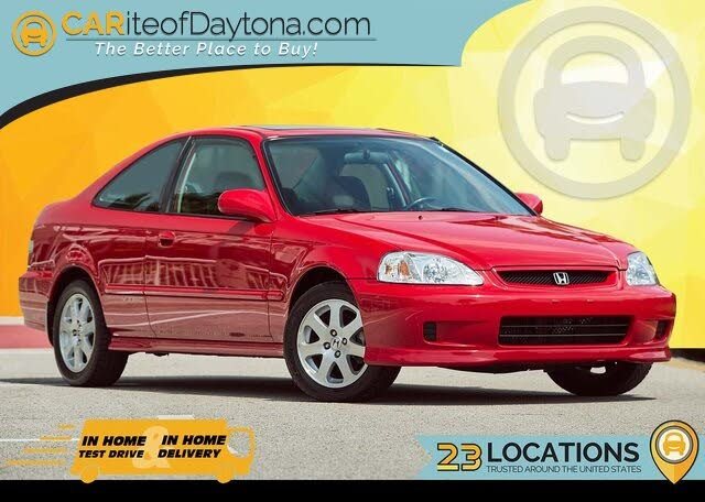 Used 2000 Honda Civic Coupe Si For Sale With Photos Cargurus
