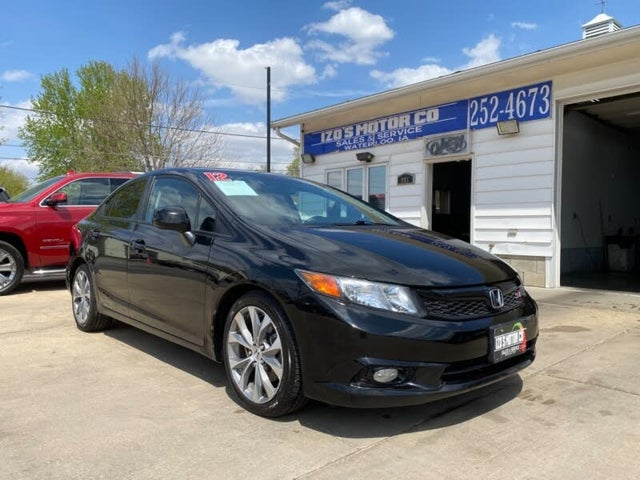 Used 2012 Honda Civic Si For Sale With Photos Cargurus