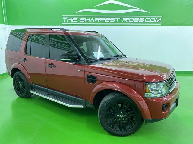 2016 Land Rover LR4 HSE LUX AWD