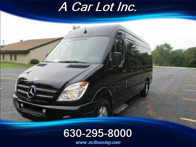 2012 Mercedes-Benz Sprinter 2500 170 WB Extended Passenger Van