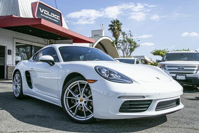 2018 Porsche 718 Cayman RWD