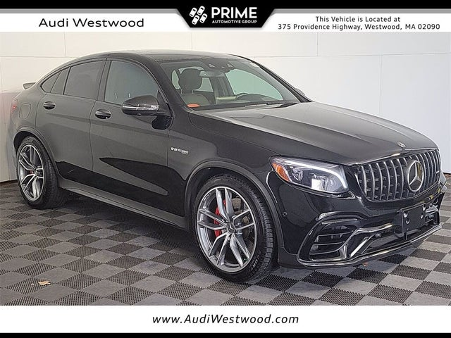 2018 Mercedes-Benz GLC-Class GLC AMG 63 S 4MATIC Coupe AWD