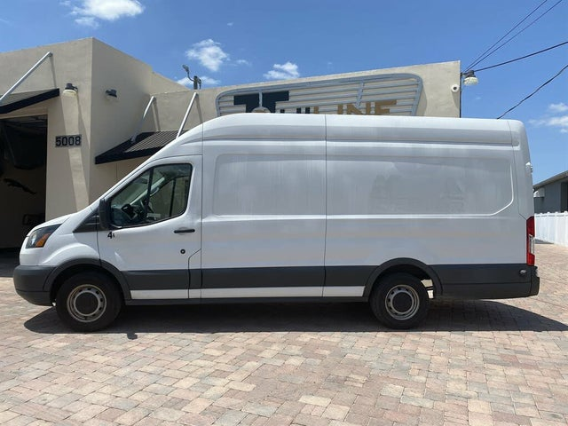 2017 Ford Transit Cargo 350 3dr LWB High Roof Extended Cargo Van with Sliding Passenger Side Door