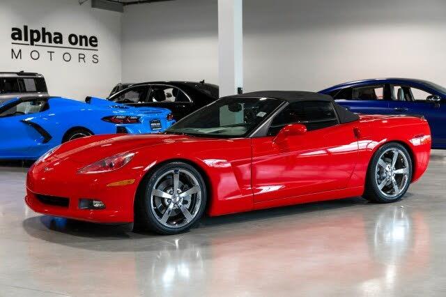 2010 Chevrolet Corvette 3LT Convertible RWD