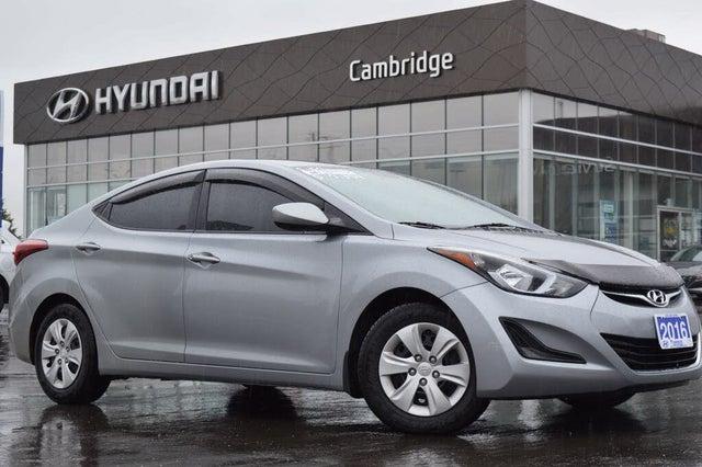 2016 Hyundai Elantra L Sedan FWD