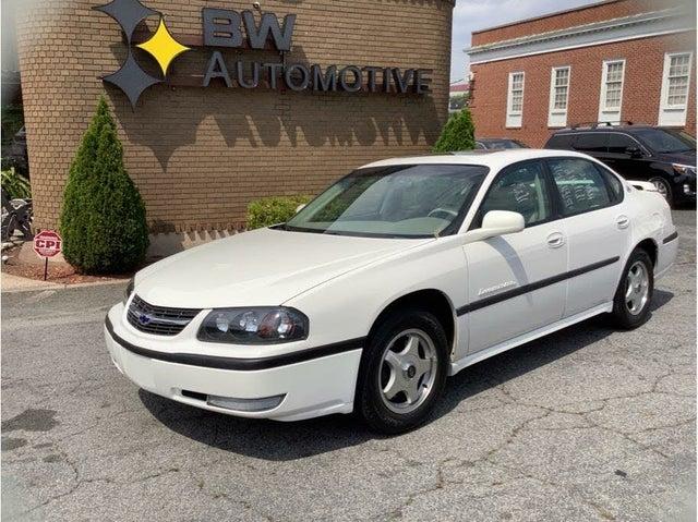 2002 Chevrolet Impala LS FWD