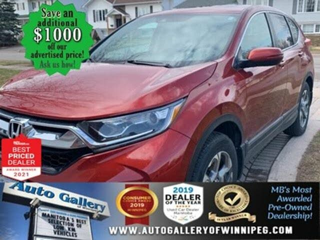 2018 Honda CR-V EX-L AWD with Navigation