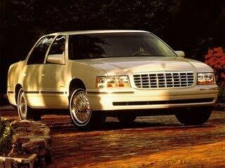 1999 Cadillac DeVille d'Elegance Sedan FWD