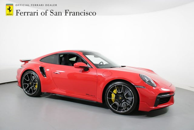 2021 Porsche 911 Turbo S Coupe AWD