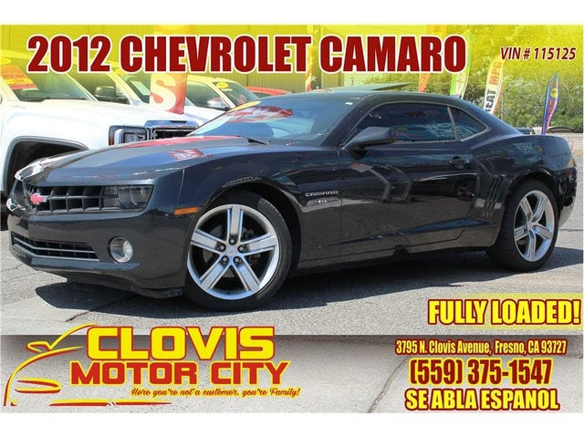 2012 Chevrolet Camaro 2LT Coupe RWD