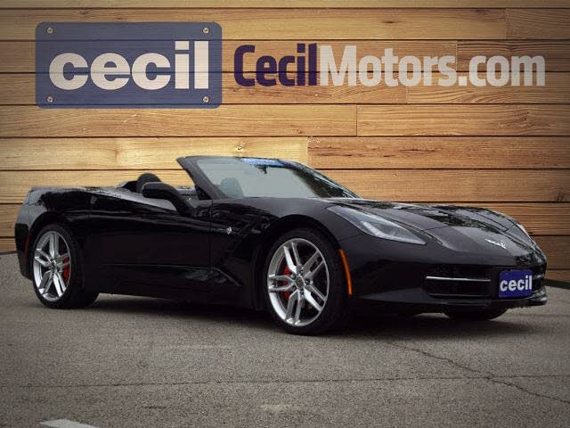 2016 Chevrolet Corvette Stingray 2LT Convertible RWD