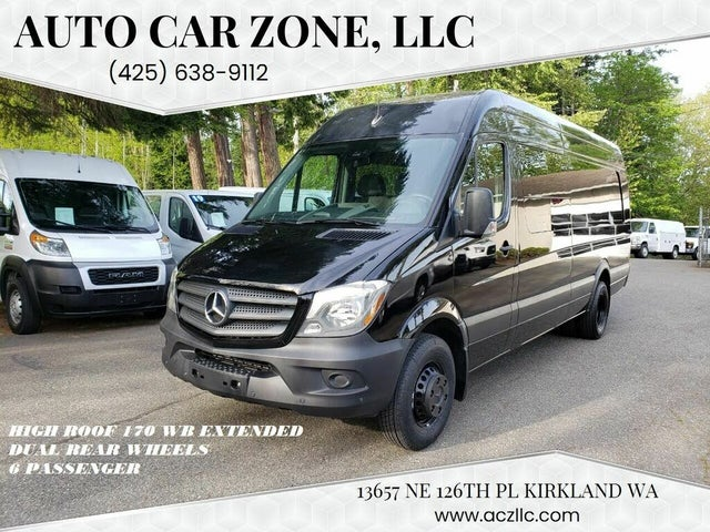 2017 Mercedes-Benz Sprinter Cargo 3500 170 V6 High Roof Extended RWD
