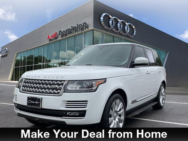 2015 Land Rover Range Rover V8 Supercharged 4WD