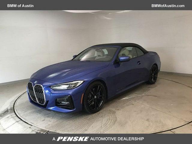 2021 BMW 4 Series 430i Convertible RWD