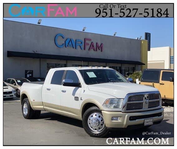2012 RAM 3500 Laramie Longhorn Mega Cab DRW RWD