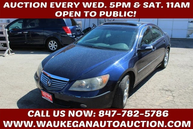 2006 Acura RL SH-AWD with Navigation and Tech Package