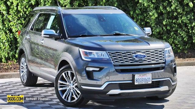 2018 Ford Explorer Platinum AWD
