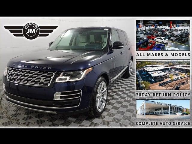 2019 Land Rover Range Rover V8 SVAutobiography LWB 4WD