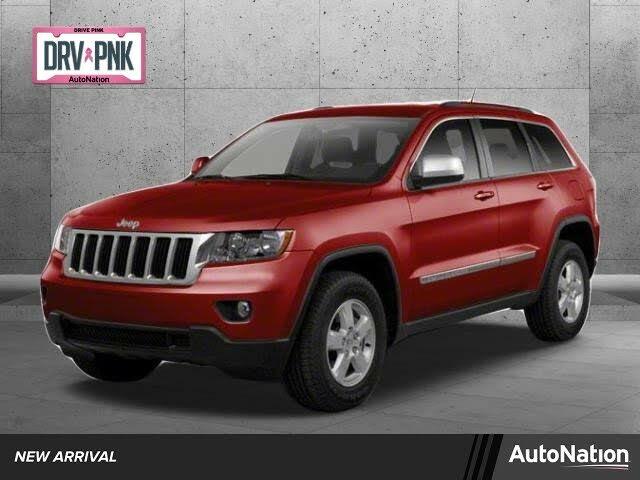 2012 Jeep Grand Cherokee Overland 4WD