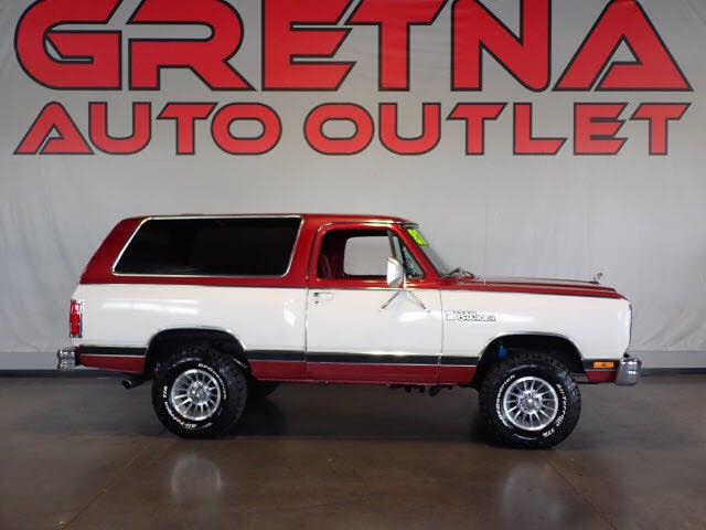 1987 Dodge Ramcharger 150 4WD