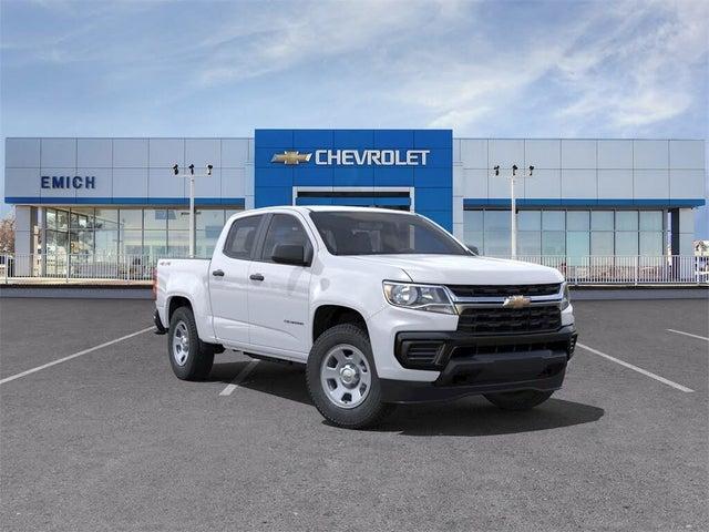 2021 Chevrolet Colorado Work Truck Crew Cab 4WD