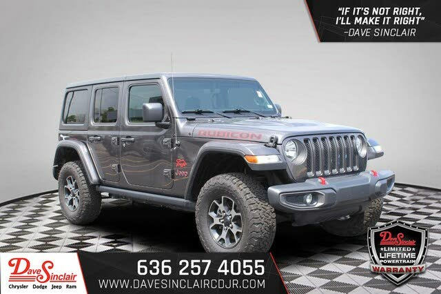 2018 Jeep Wrangler Unlimited Rubicon 4WD