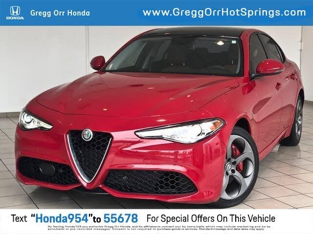 2018 Alfa Romeo Giulia Sport AWD