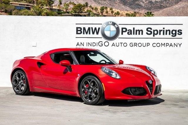 2018 Alfa Romeo 4C Coupe RWD