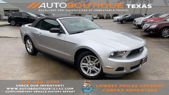2012 Ford Mustang V6 Convertible RWD