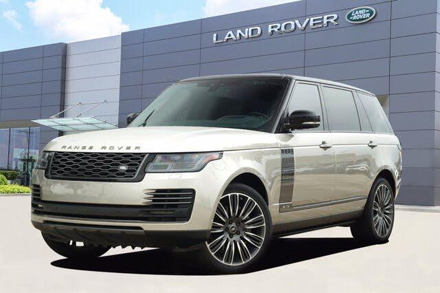 2018 Land Rover Range Rover V8 Autobiography LWB 4WD