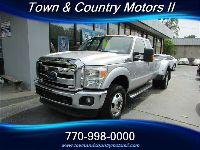 2013 Ford F-350 Super Duty Lariat SuperCab LB DRW 4WD