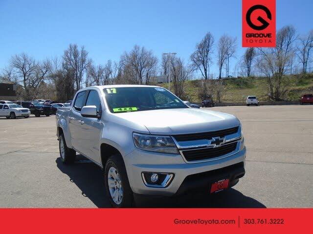 2017 Chevrolet Colorado LT Crew Cab 4WD