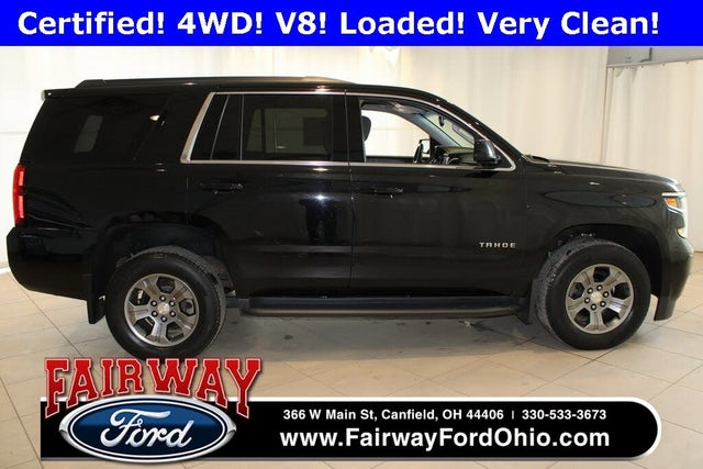 2018 Chevrolet Tahoe LS 4WD