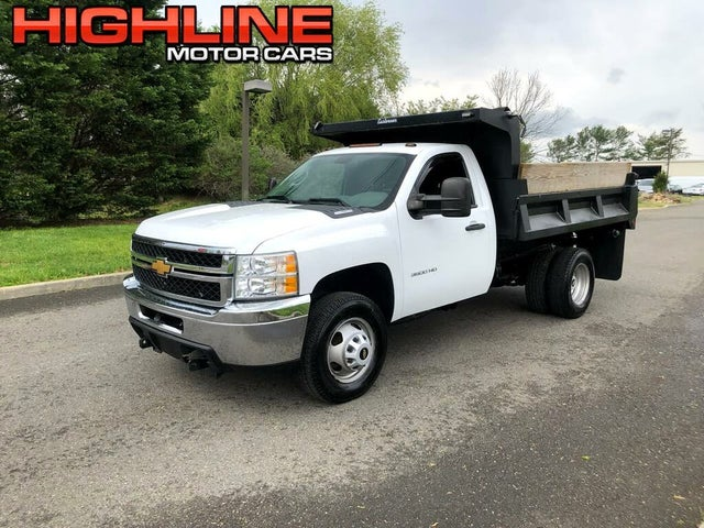 2013 Chevrolet Silverado 3500HD Chassis Work Truck 4WD