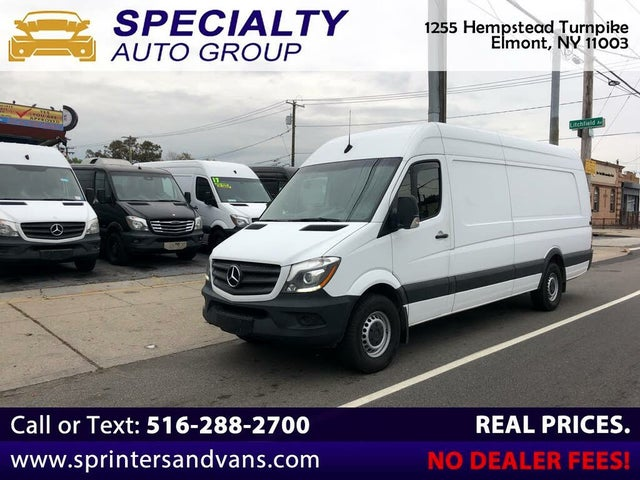 2018 Mercedes-Benz Sprinter Cargo 2500 170 V6 High Roof Extended RWD