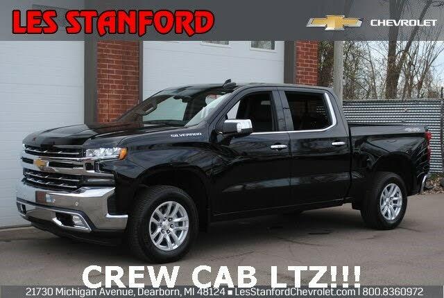 2019 Chevrolet Silverado 1500 LTZ Crew Cab 4WD